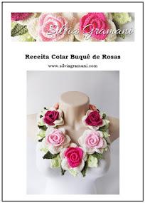 Lançamento: Receita Colar Buquê de Rosas