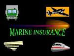 All about marine insurance