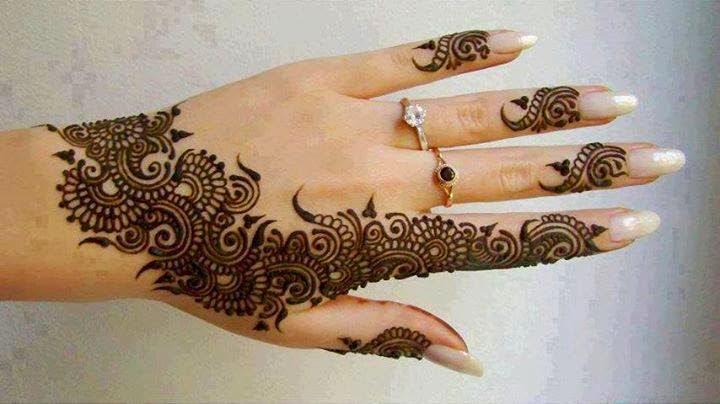 Mehndi Designs Churidar : Fancy mehndi images exclusive designs for parties