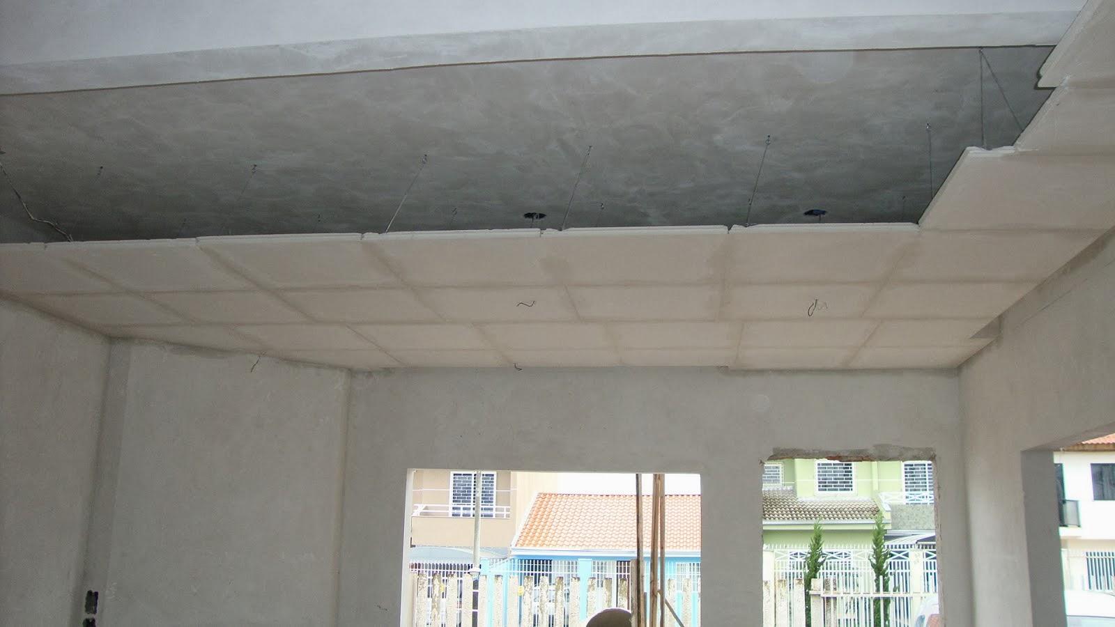 Design Gesso em Maringá: Forro de gesso #727059 1600x900 Banheiro Com Forro De Gesso