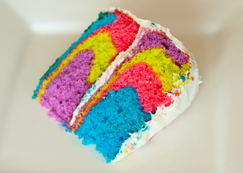 Kiddy Planet Nursery: Make a Rainbow Cake with your Kids