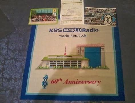 Cadeaux Gratuits de la radio KBS World Radio à recevoir chez vous