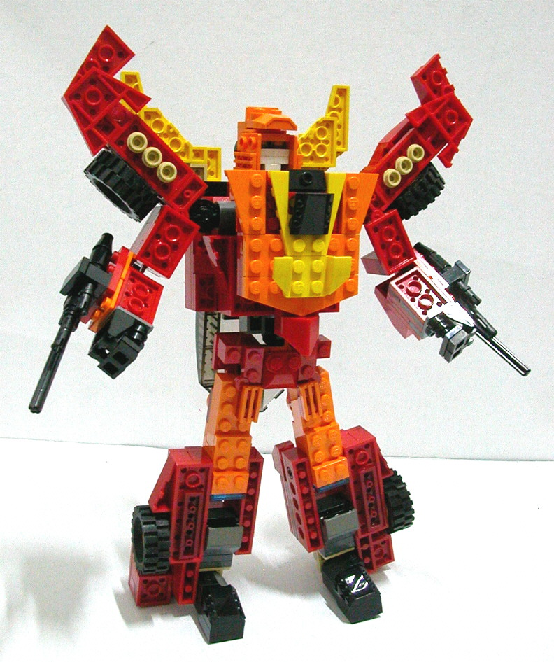 Alanyuppies Lego Transformers Instructions For Lego Neo Hot Rod