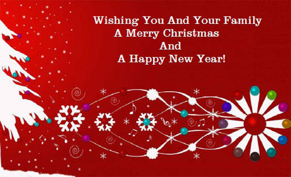 wishing you and your family ...............card