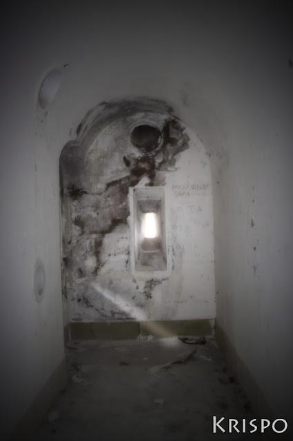 interior del fuerte de guadalupe de hondarribia