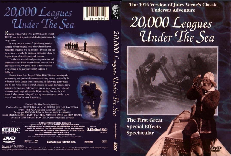 20.000 leguas de viaje submarino (1916) Descargar y ver Online Gratis