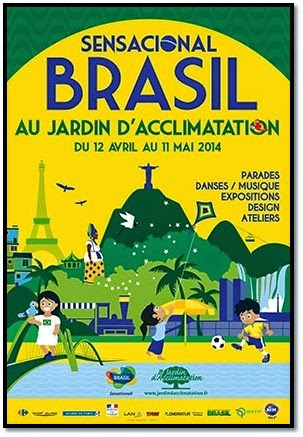 Sensacional Brasil au Jardin D'Acclimatation art danse chant bossa nova fooding