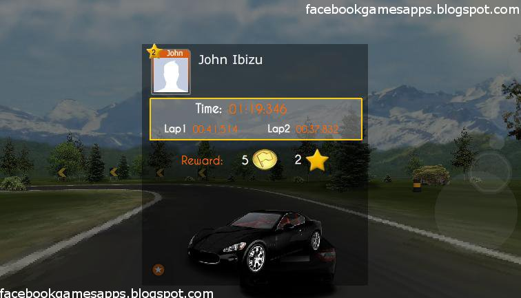 justrace finish screen
