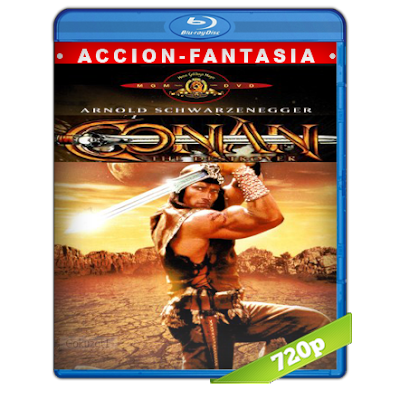 Conan El Destructor (1984) BRRip 720p Audio Trial Latino-Castellano-Ingles 5.1
