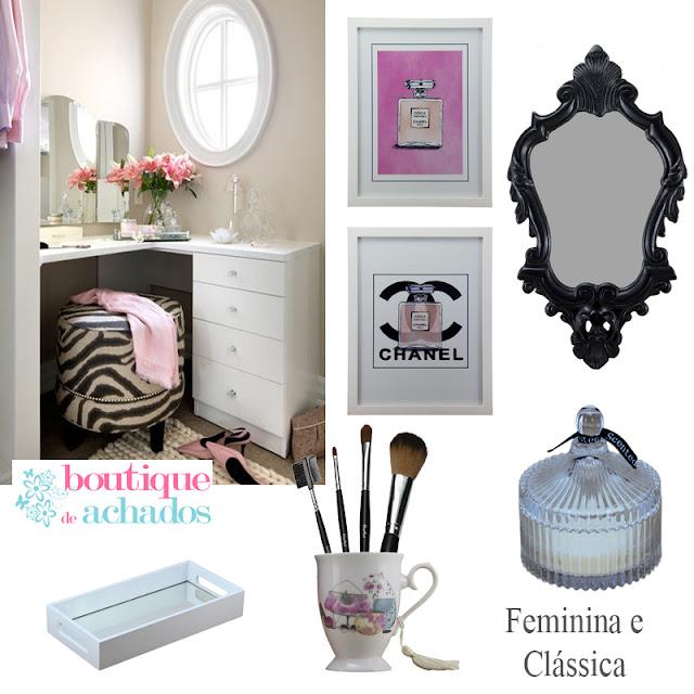 decoração clássica, loja virtual de decoração, decoração feminina