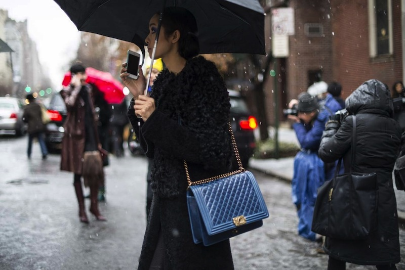 winter, style, street style, NYFW, Fashion week, snow