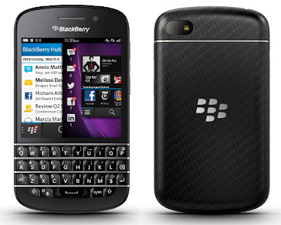 Harga BlackBerry Q10 Update November 2013