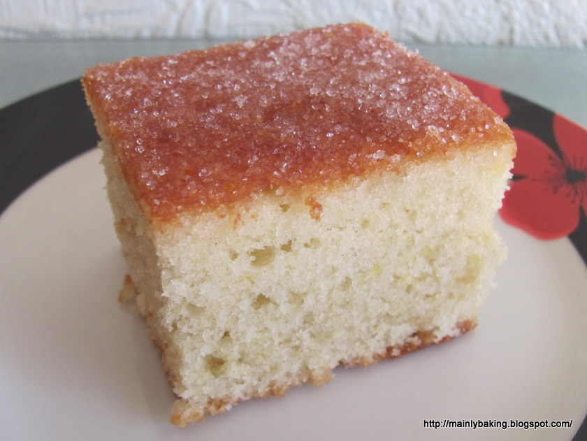 Annie Bell Lemon Drizzle Cake
