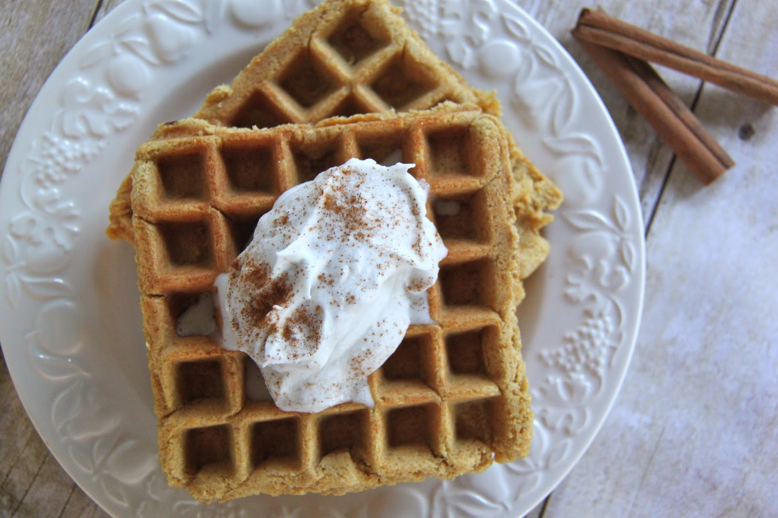 Pillsbury Cake Mix Waffles