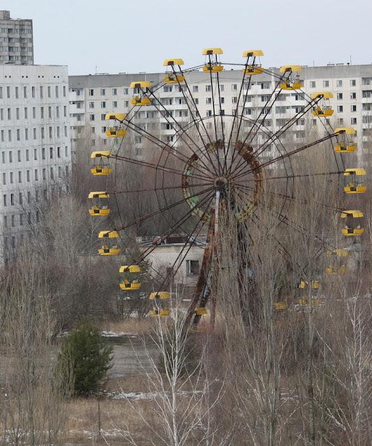покинутый город Припять