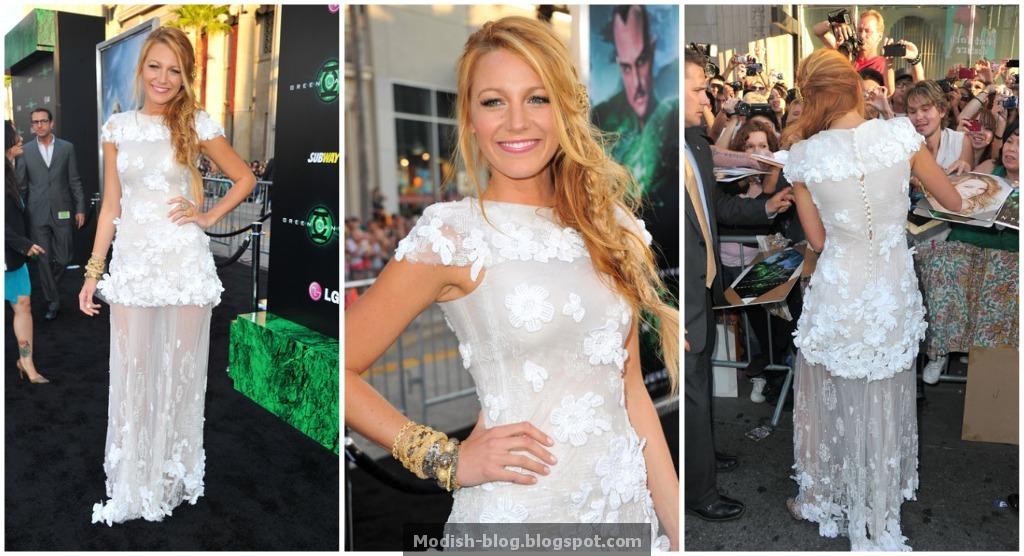 Blake+lively+green+lantern+premiere+hair