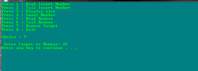 C++ Link List