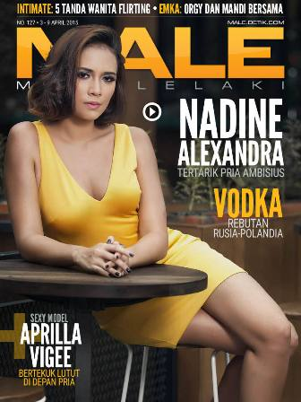 majalah male 127   nadine alexandra   insight zone