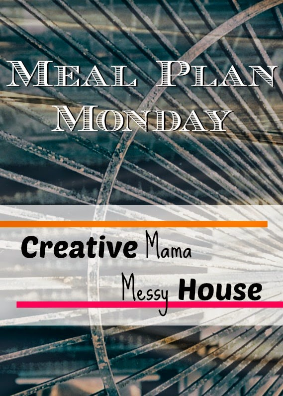 Meal Plan Monday for the week of March 23 - 29