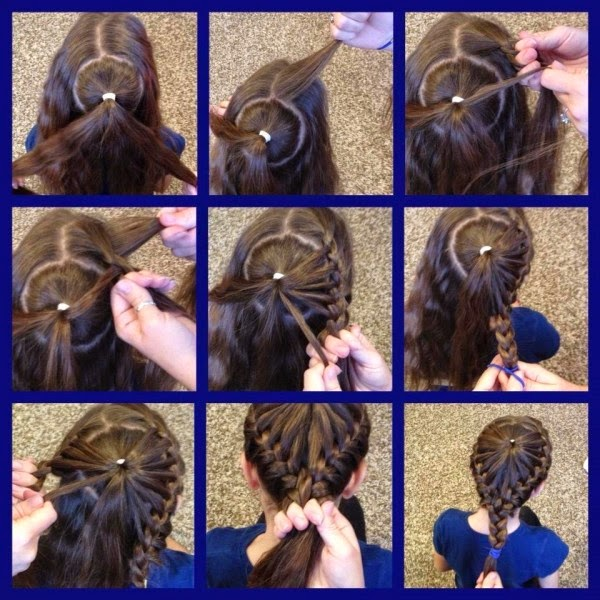 Cute Girls Hairstyles Bow Braid