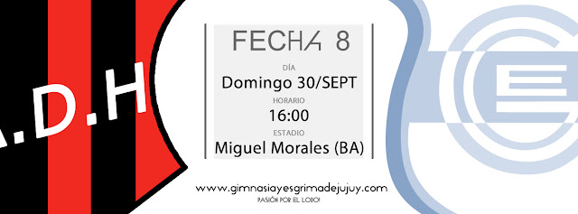 Fecha 8: Douglas Haig vs Gimnasia de Jujuy