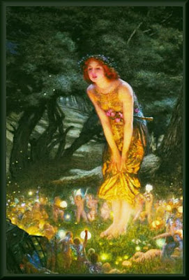 fairy magic faries spells summoning the fairies sidhe