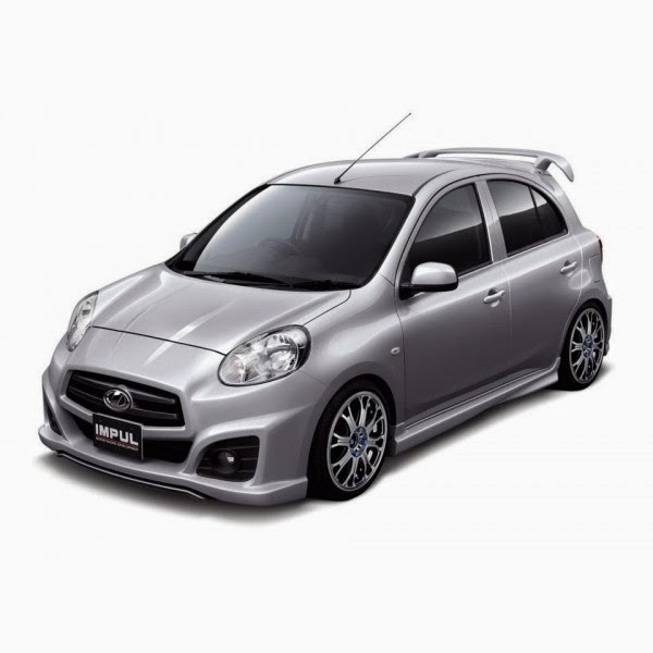 Full Bumper Nissan March IMPUL