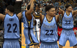 NBA 2K13 Memphis Grizzlies Jersey Alternate (A) Patch