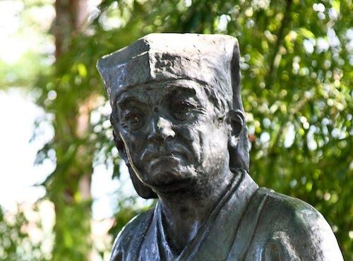 Matsuo Bashō à Yamadera