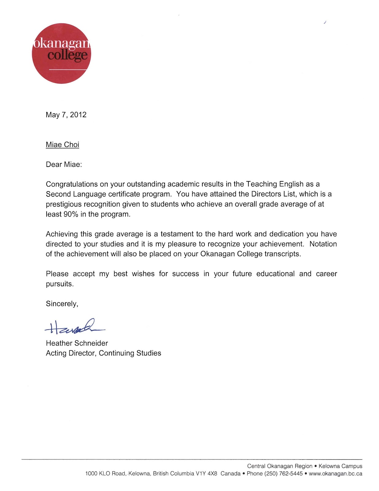 Miaes teaching portfolio tesl certificate tesl certificate 1betcityfo Gallery