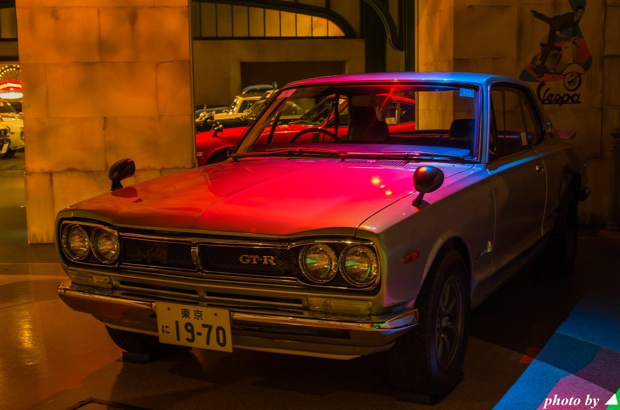 Nissan Skyline GT-R Hakosuka KPGC10, japoński kultowy klasyk, samochód z duszą, znany, ceniony, RWD, S20, R6, JDM, tylko na rynek Japonii, stare auto, nostalgic, oldschool, fotki, galeria, zdjęcia
