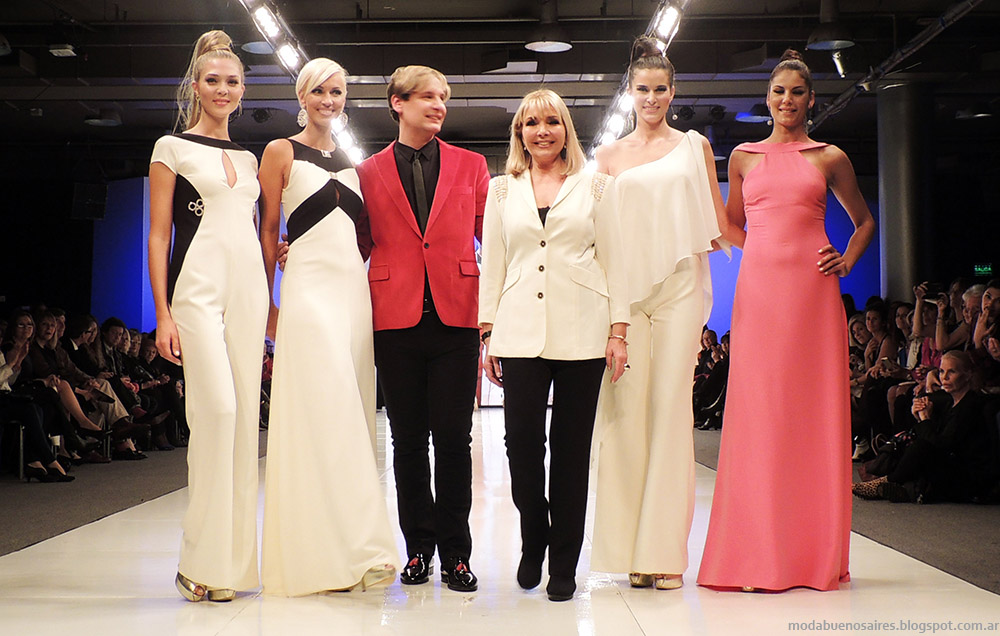 Adriana Costantini primavera verano 2015. Argentina Fashion Week desfile, Moda primavera verano 2015.