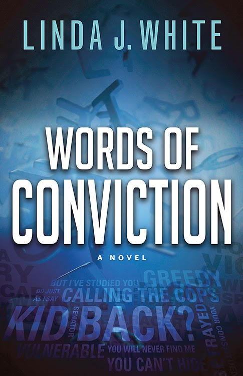 book review of Words of Conviction by Linda J. White (Abingdon Press) by papertapepins
