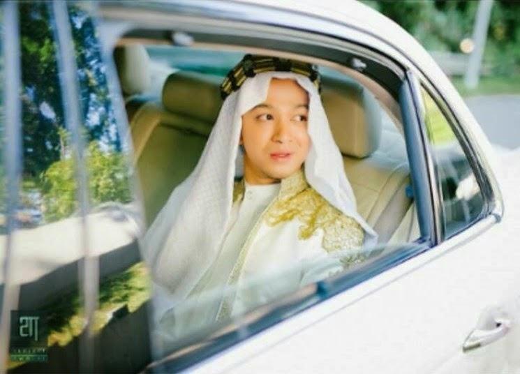 14 Gambar Sekitar Majlis Pernikahan Syarif Sleeq dan Malaque Mahdly