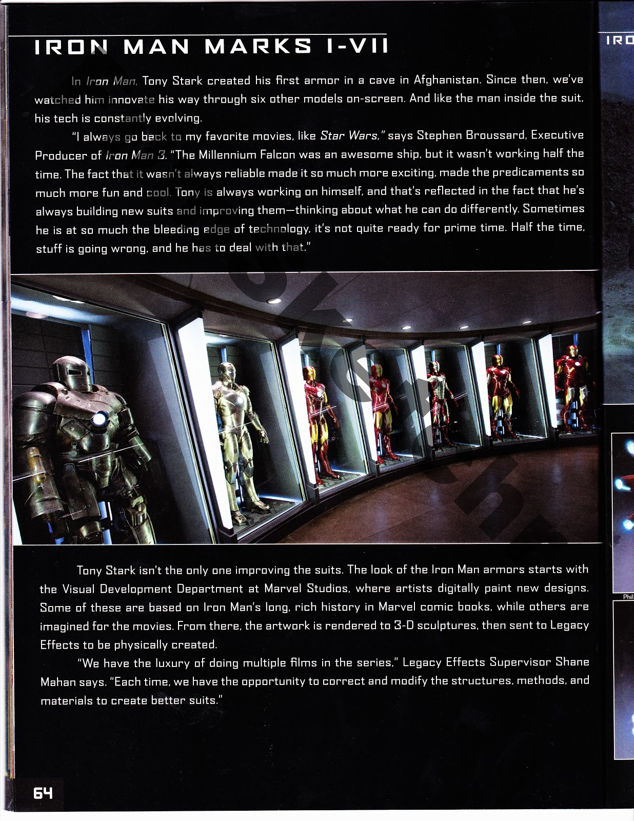 exclusive 16 pages of art of iron man 3 book preview  film sketchr