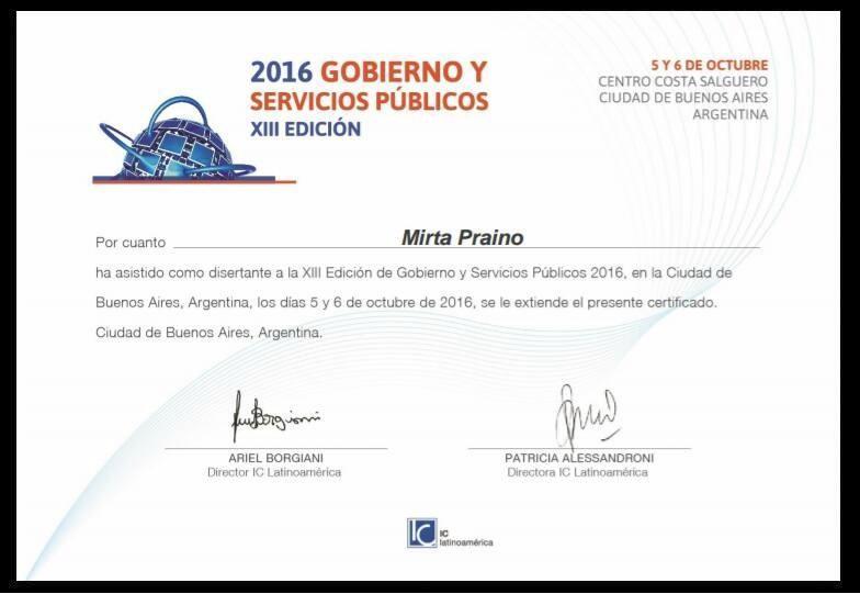 DISERTAMOS en la XIII Edición de Feria y Congreso Internacional para Gobiernos Locales