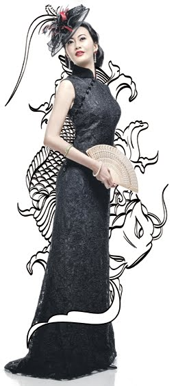Eelyn kok, 郭惠雯 guō huì wén, the affable actress has also felt the need to dress