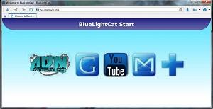 تحميل متصفح القطة الزرقاء BlueLightCat 0.1 Beta