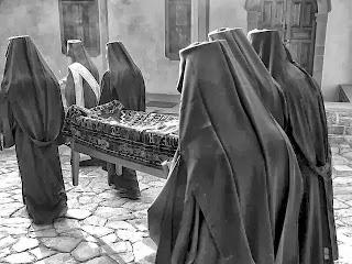 κηδεία μοναχού