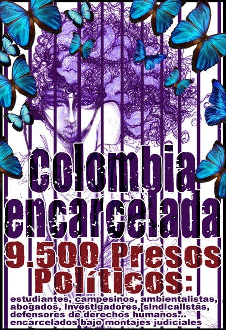Libertad a l@s 9.500 pres@s polític@s en Colombia