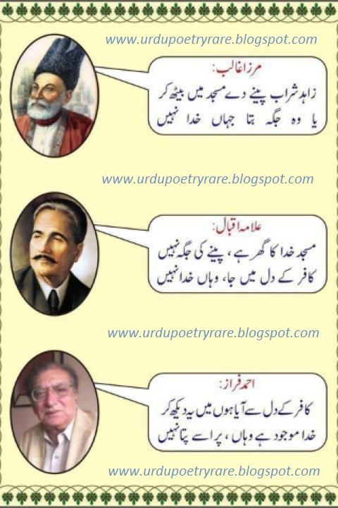 Iqbal ki shayari essay in urdu