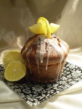 Cserepes citromos sütemény