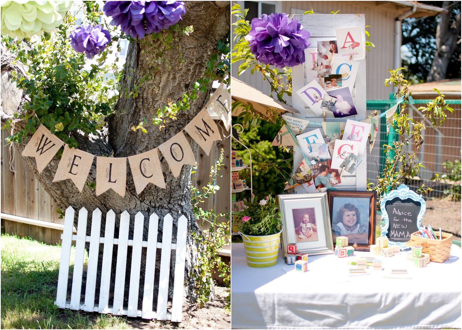 Domestic Fashionista Backyard Garden Baby Shower