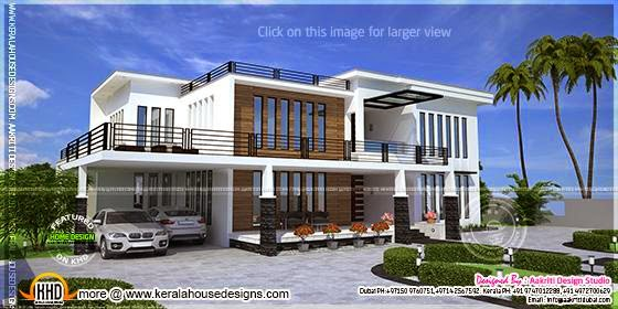 Contemporary view house