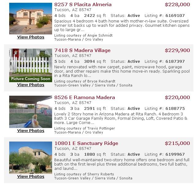 Aaarizona Find Tucson Real Estate Here 4631 Listings
