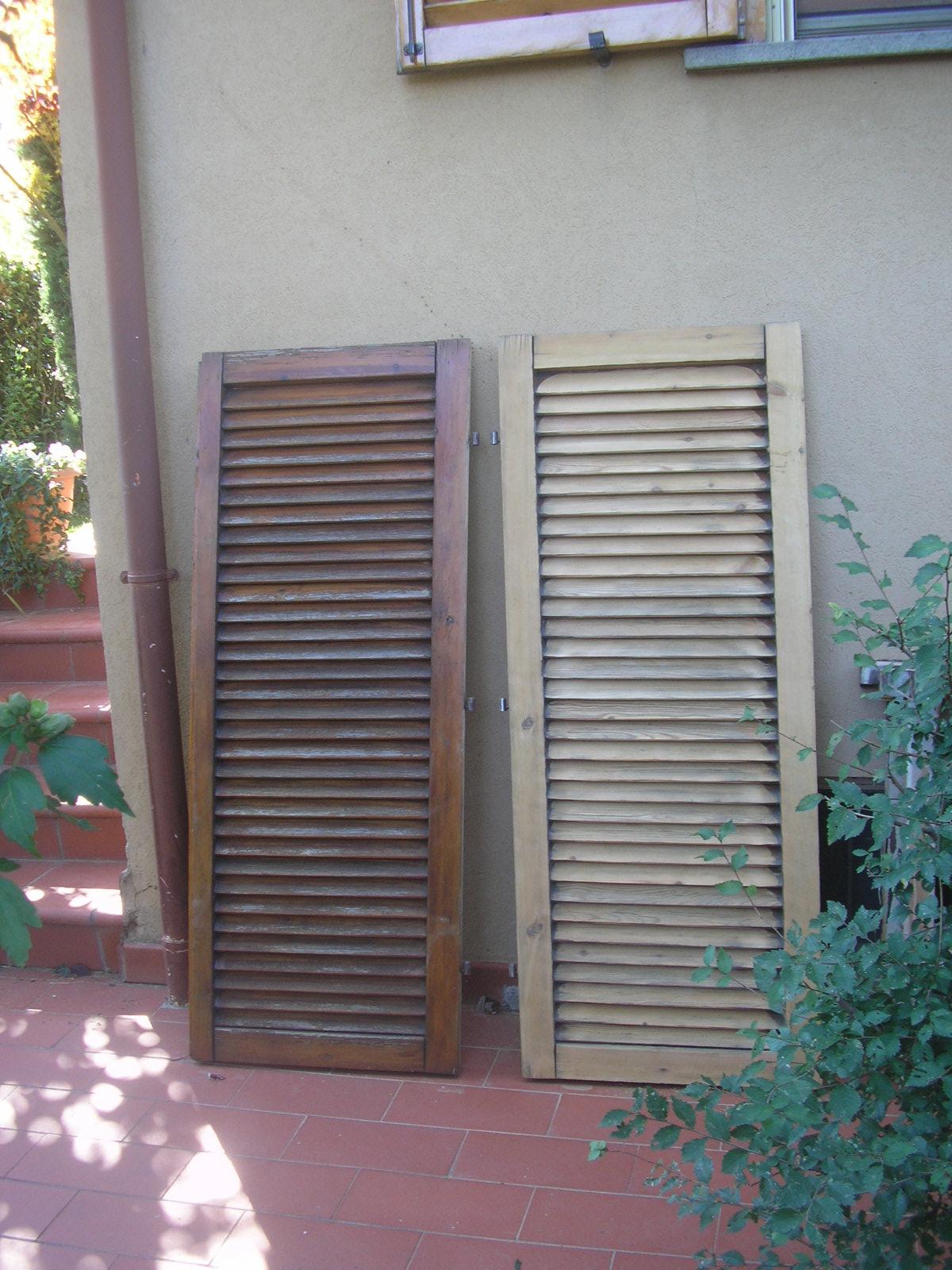 Tuscan glam la manutenzione della finestra in legno toscana - Manutenzione finestre in legno ...