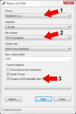 inicializar, usb, ms-dos, dos,boot,portável,bootável