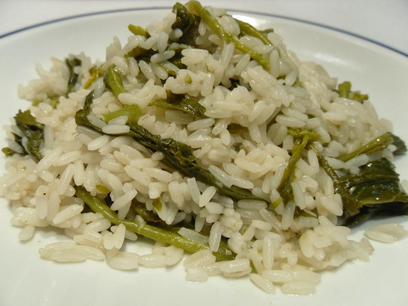 Receita de arroz