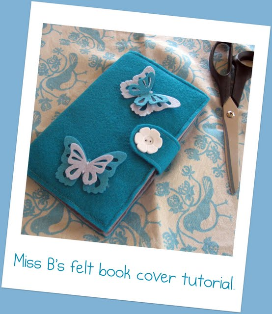 Photo Book Cover Tutorial : Let s go moerkabout miss b felt book cover tutorial