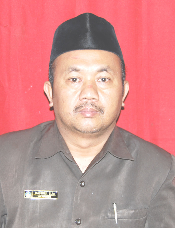 Masturi S.Ag, M.Pd, Guru Pendidikan Agama Islam